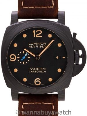 Panerai Luminor Marina Carbotech PAM 661 with Box & Papers circa 2016