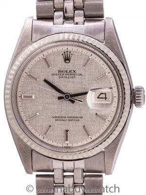 Rolex Datejust Stainless Steel ref 1601 circa 1971