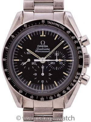 Omega Speedmaster Moonwatch ref 145.022-76 circa 1979 MINT!