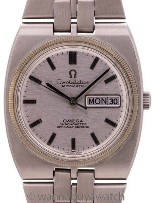 Omega Constellation Cosmic Automatic ref 168.045 Day Date circa 1970