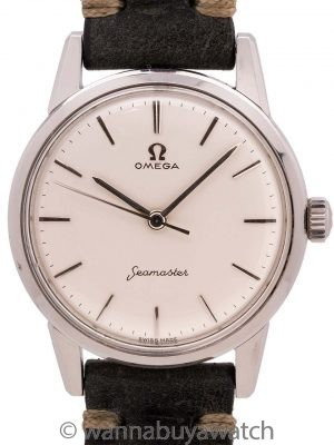 Omega Seamaster ref 14390-7 SC Stainless Steel circa 1959
