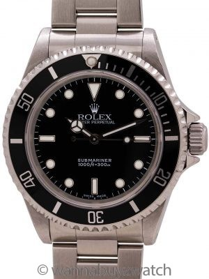 Rolex Submariner ref# 14060M Stainless Steel circa 2003