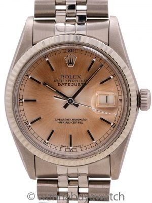 Rolex Stainless Steel Datejust ref 16014 circa 1979