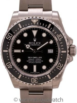 Rolex Sea-Dweller 4000 ref 116660 Stainless Steel circa 2017