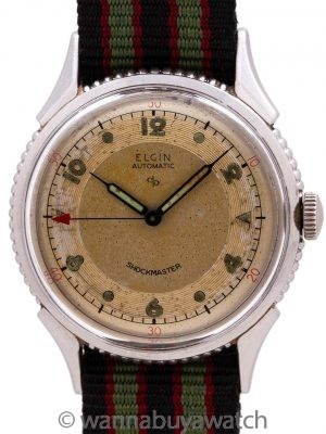 Lord Elgin Stainless Steel Shockmaster circa 1950's