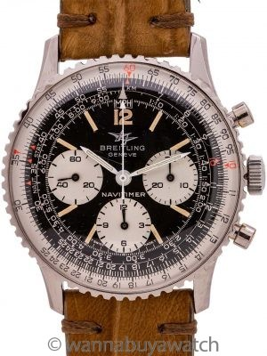 "Breitling Navitimer ""Twin Jets"" ref 806-36 circa 1968"
