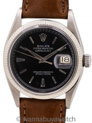 Rolex Early Datejust ref 6605 circa 1956
