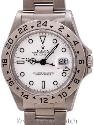 "Rolex Explorer II ref 16570 circa 1999 ""Swiss Only"""