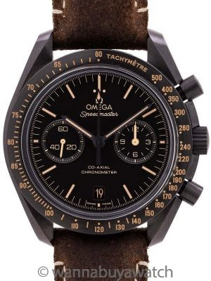 "Omega Speedmaster Dark Side of the Moon ""Vintage Black"" 2017"