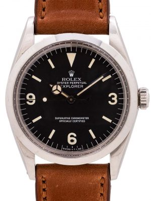 Rolex Explorer 1 ref 1016 Hack Feature circa 1972