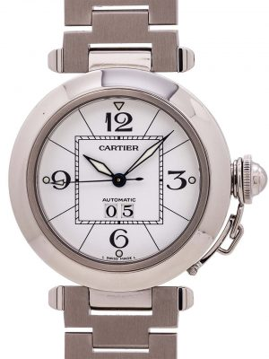 "Cartier Pasha C ""Big Date"" Stainless Steel circa 2000s"